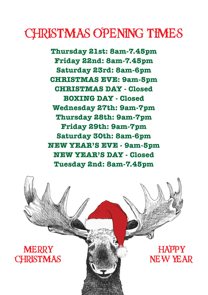 TBC-Christmas-Opening-Times-2017-New-Times-2-x-A3-and-2-x-A4
