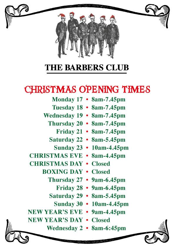 The-Barbers-Club-xmas-Hours