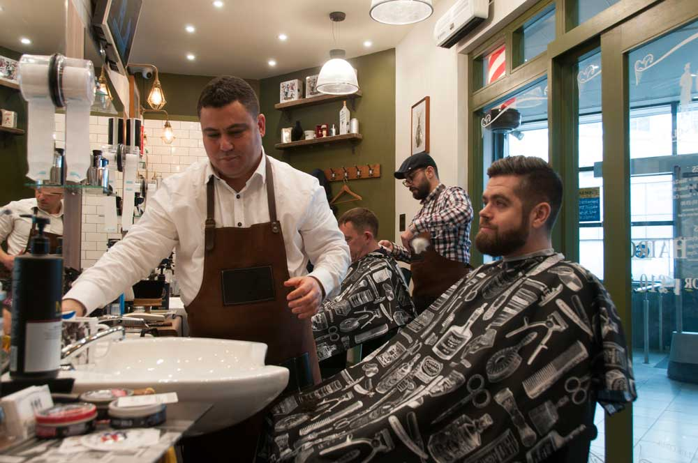 Hammersmith Barbers W6 The Barbers Club